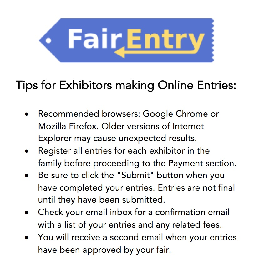 Tips for Exhibitors